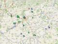 Forgatási helyszíneink 2010. július végéig.