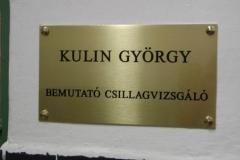 Dr. Kulin György Csillagvizsgáló avatás