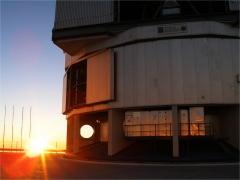 Napnyugta az Antu kupolájánál