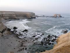 La Portada nevű formáció, Csendes-óceán, Antofagasta