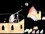 """A """"400 éves a távcső"""" c. pályázat beküldött rajzai"""