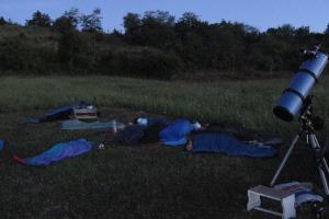 Perseida 2008 Meteorészlelő Tábor