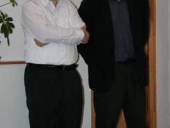 Kiss László és Mizser Attila