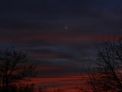 Vénusz naplemente után