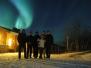 Sarki fény fotók Svédországból (Balaton László)
