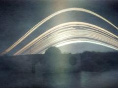 Kiss Szabolcs képe a Polaris Csillagvizsgálóról.  A képen a nap útjában látható egy üres rész, amikor rá volt csúszva a lyukra a szigetelőszalag (október 15-ig). A teljes felvétel 2011.09.24 és 2011.12.17 között készült.