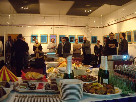 2005.12.09. a Bajai Csillagda 50 éves fennállásának ünneplése