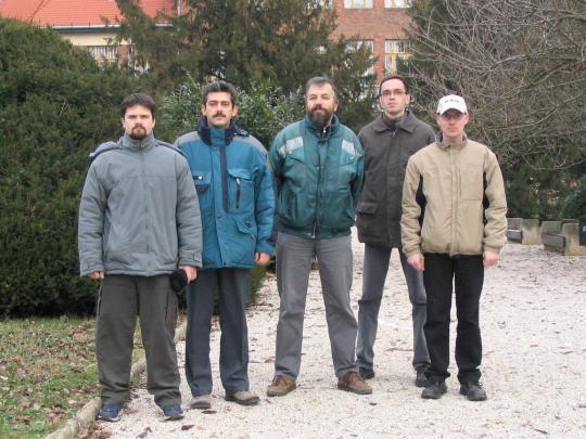 A Kaposvári Csoport néhány tagja