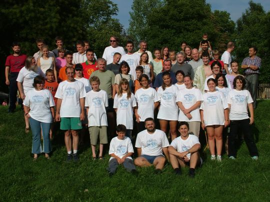 A 2005. évi Kiskun-tábor résztvevői