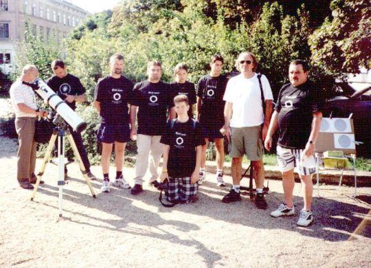 Napfogyatkozás emléknap 2000. augusztus 11-én Sopronban