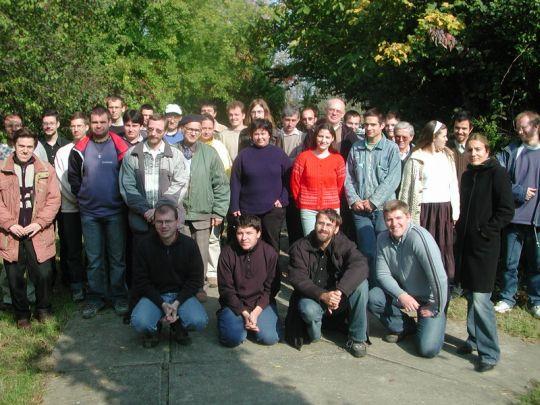 A 2005. évi találkozó résztvevői