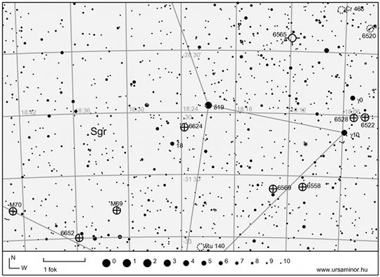 Gömbhalmazok a Teáskannában (Sagittarius csillagkép)