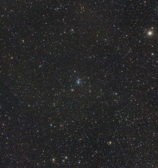 A Rák csillagkép és környéke, középen az M44 látható. Kovács Attila fotója