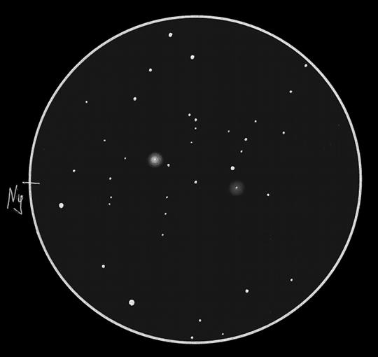 NGC 5121 GX és Longmore 8 PL Cen, Sánta Gábor