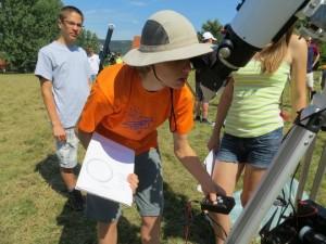 MCSE ifjúsági csillagásztábor @ Német Nemzetiségi Tábor