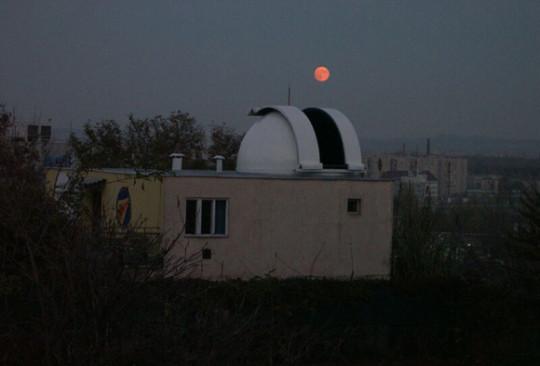 Teljes holdfogyatkozás - minden jegy elkelt!  @ Óbudai Polaris Csillagvizsgáló | Budapest | Magyarország