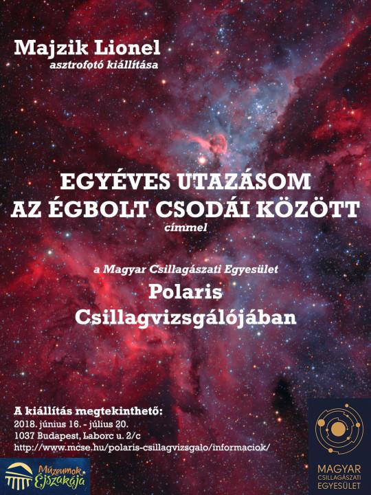 Múzeumok Éjszakája a Polarisban @ Óbudai Polaris Csillagvizsgáló | Budapest | Magyarország