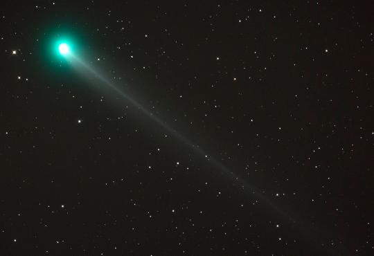 Borovszky Péter felvétele a Lovejoy-üstökösről