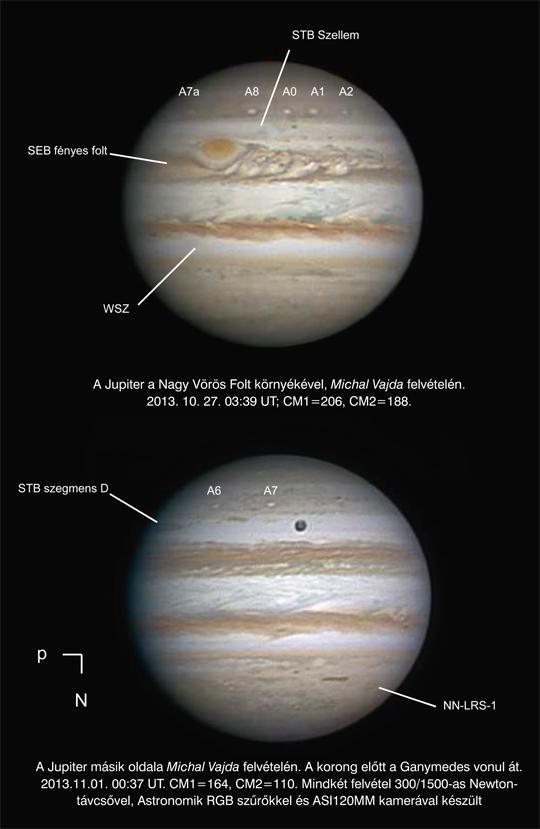 """Michal Vajda számára már megkezdődött a """"bolygószüret"""". Nagyszerű felvételeiről a Meteor 2014. januári számában olvashatunk."""