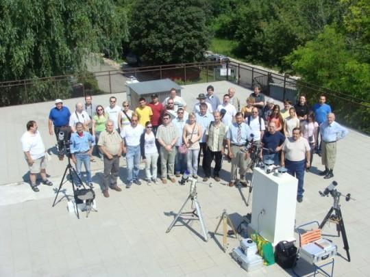 Csoportkép az I. Napészlelők Találkozóján