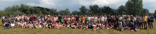 A tábor csoportképe (Borovszky Péter felvétele).