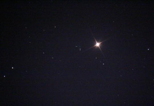 A Mars és a Finlay-üstökös december 24-én, Adonyból.