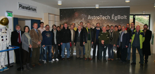 A 2013-as workshop résztvevői.