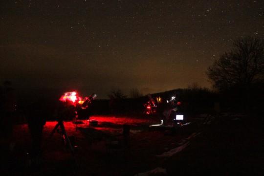Téli észlelőhétvége @ Szilváskő | Salgótarján | Magyarország