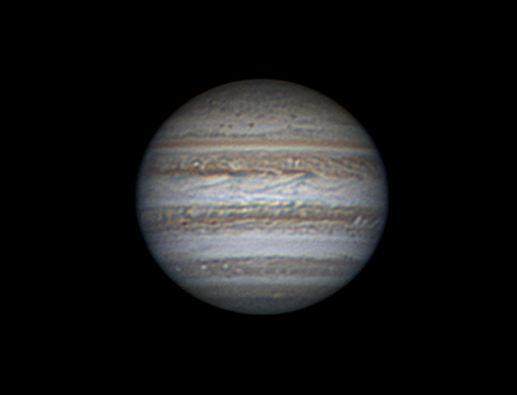 A Jupiter Gulyás Krisztián 2017. április 9-i felvételén.