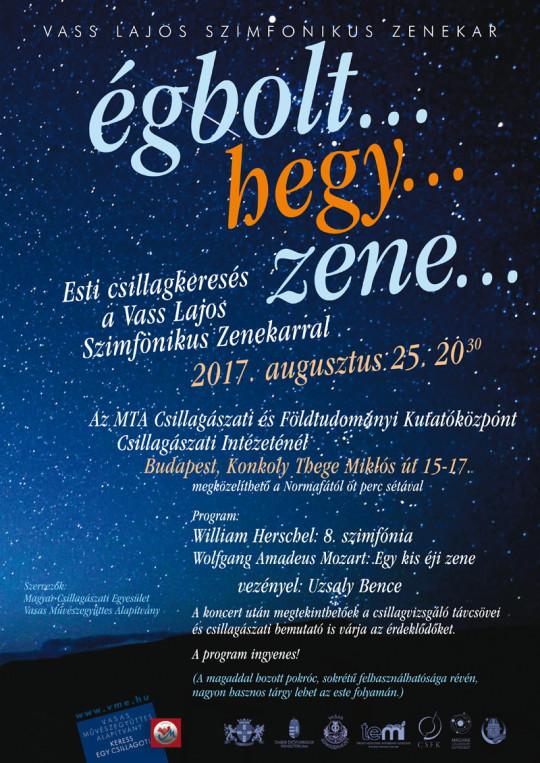 Égbolt... hegy... zene... @ MTA CSFK Csillagászati Intézete | Budapest | Magyarország