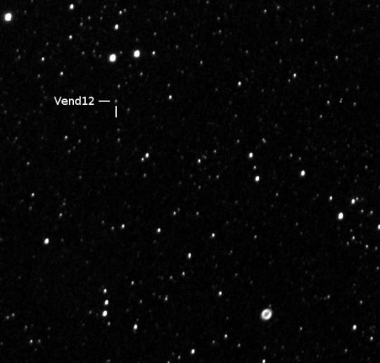 A Vend 12 az M57 szomszédságában, Fidrich Róbert felvételén.