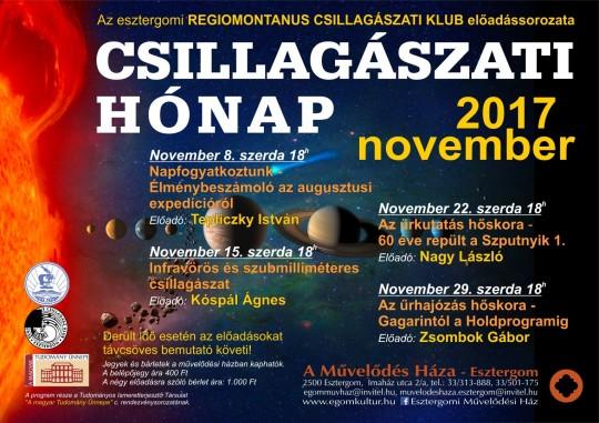 Csillagászati Hónap @ Esztergomi Művelődési Ház | Esztergom | Magyarország