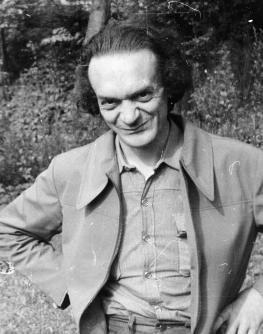 Szentmártoni Béla, a PVH kitötlője 1978 nyarán, a rókafarmi észlelőtáborban.