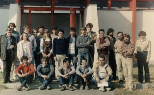 Találkozónknak a kecskeméti Planetárium adott otthont 1985. október 12-én.