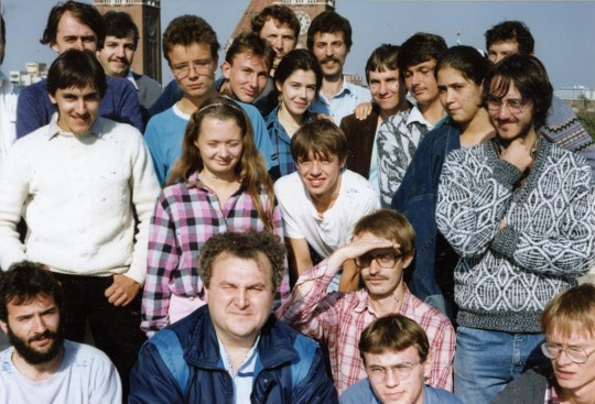 A legelső szegedi változós találkozó 1988. október 15-én.