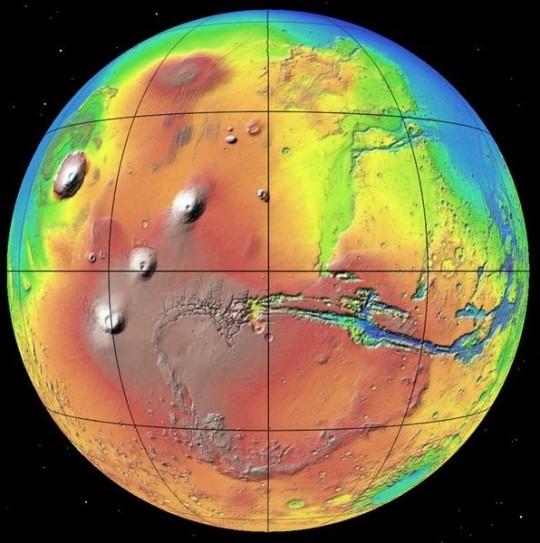 Számítógéppel a Mars felszíne felett @ Óbudai Polaris Csillagvizsgáló | Budapest | Magyarország