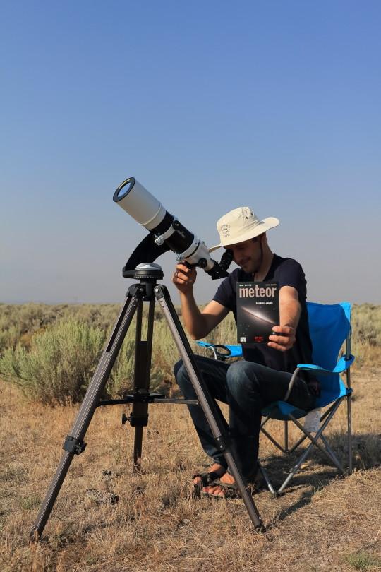 Meteorral a világ körül (Szulovszky András).