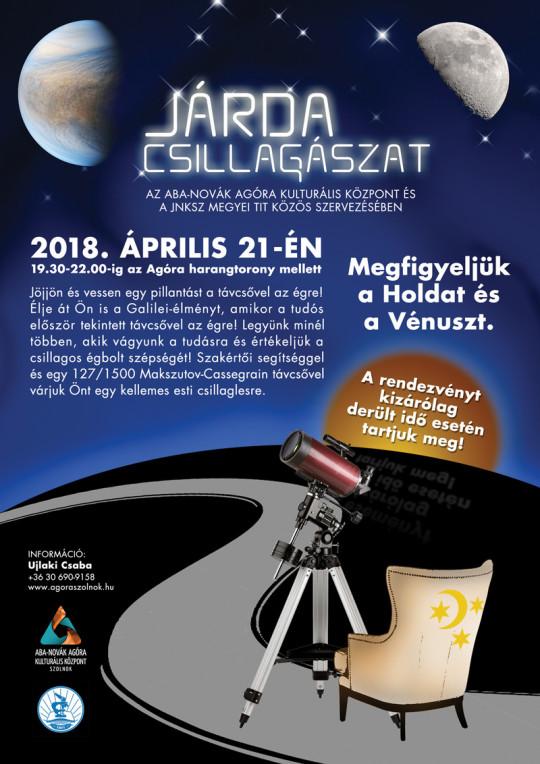 Csillagászat Napja Szolnokon @ Aba-Novák Agóra | Szolnok | Magyarország
