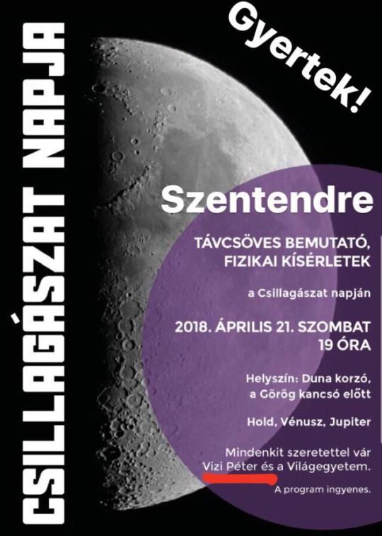 Csillagászat Napja Szentendrén @ Görög kancsó előtt | Szentendre | Magyarország
