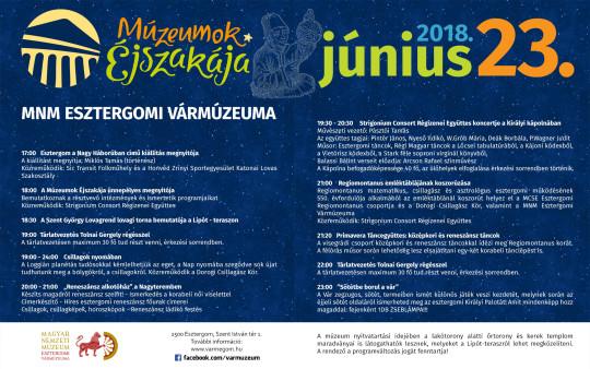 Múzeumok Éjszakája Esztergomban @ Esztergom | Budapest | Magyarország