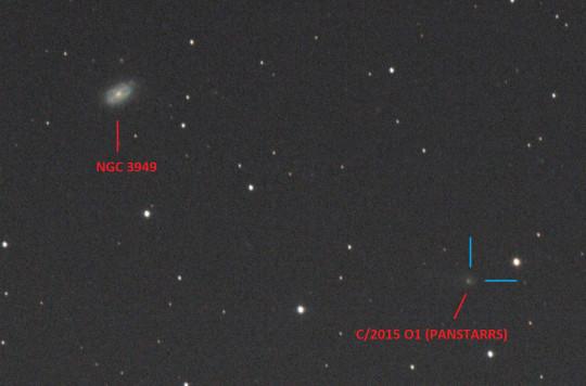 2018.07.01. 20:55:00- 21:02:21 (UT); 9x50s kép; 200/800 Newton; AZ-EQ6; ISO 1600; vezetés: MGEN