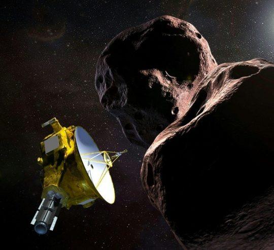Látogatóban az Ultima Thule kisbolygónál @ Óbudai Polaris Csillagvizsgáló