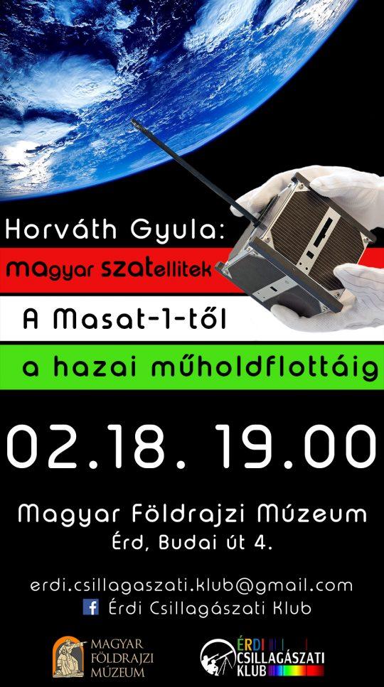 MAgyar SZATellitek @ Földrajzi Múzeum