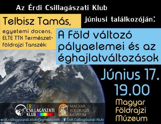 Érdi csillagászati klub @ Földrajzi Múzeum