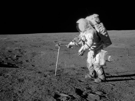 Az Apollo-12 nyomában @ Óbudai Polaris Csillagvizsgáló