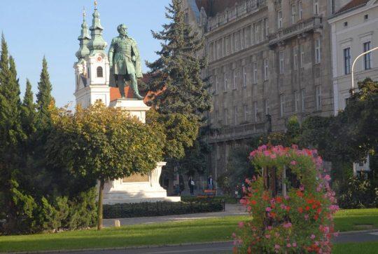 Merkúr-átvonulás Sopronból @ Széchenyi tér