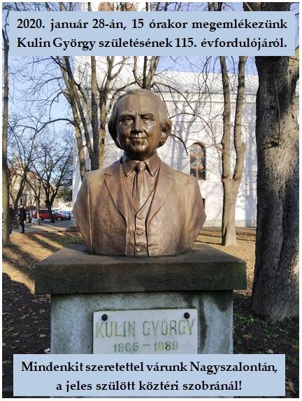 Kulin György szobrának megkoszorúzása @ Szoborpark