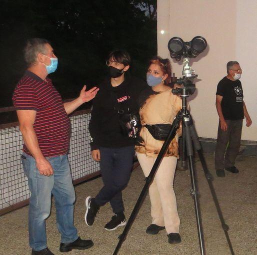 Távcsöves bemutató (derült időben) @ Óbudai Polaris Csillagvizsgáló